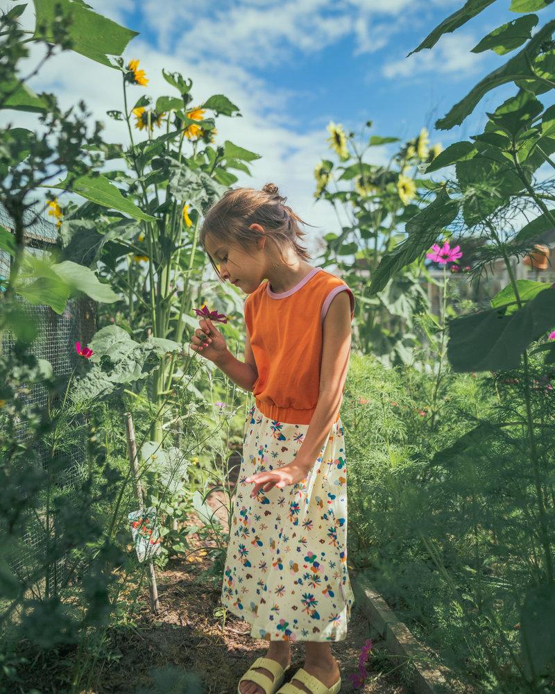 ba*ba Smockdress lang | Flower field