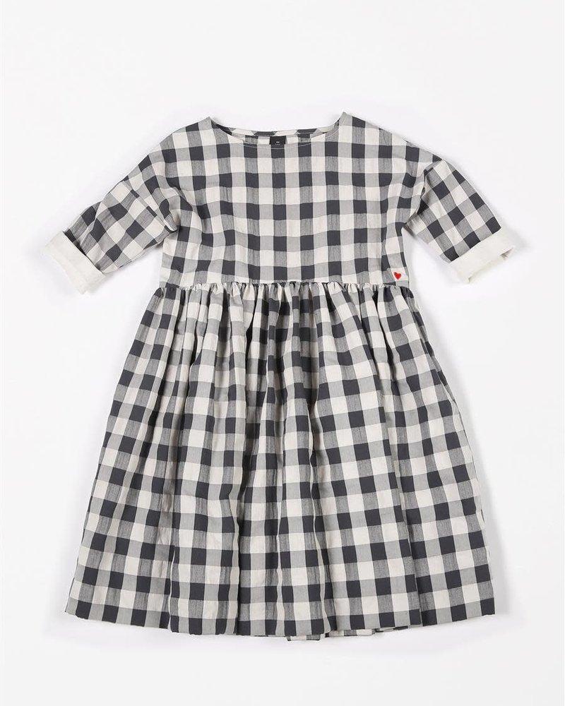 Mundo Melocotón Maxi Dress Vichy Antra