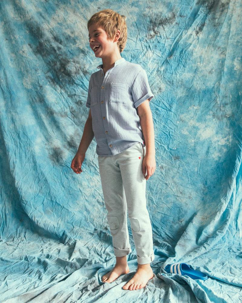 Mundo Melocotón Pants Tetra Arctic Blue