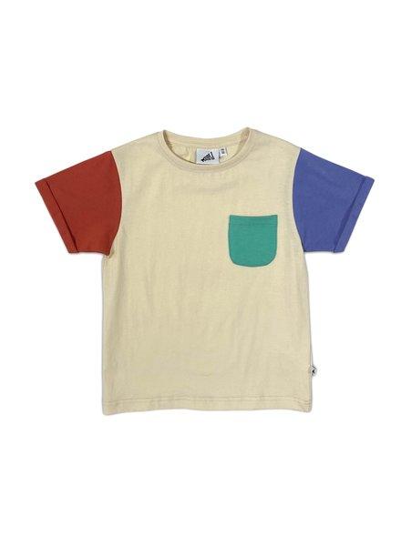 Cos I said so T-shirt Colorblock   Navajo