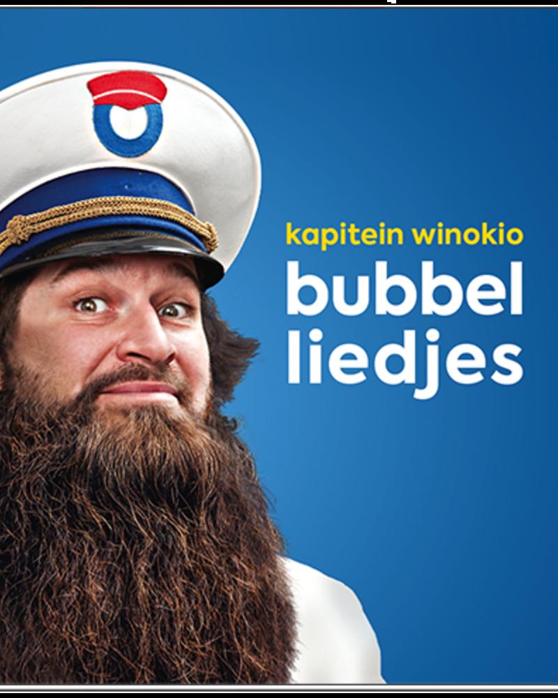 Kapitein Winokio Bubbelliedjes - CD