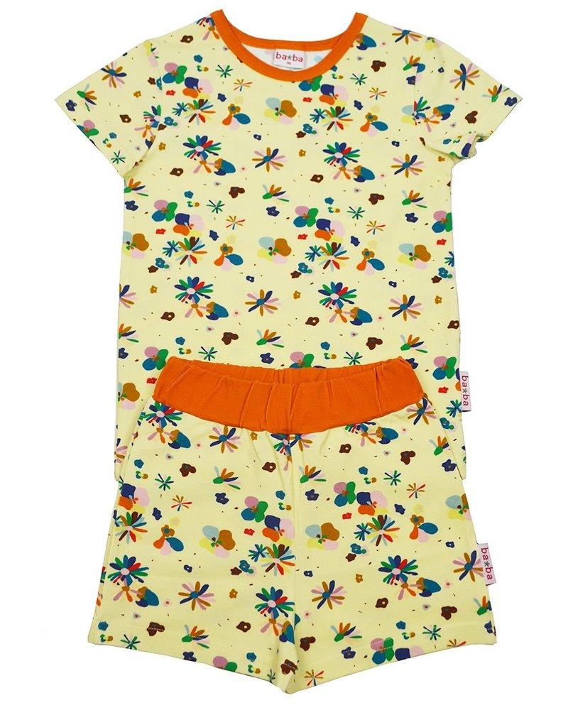 ba*ba Pyjama short   Flower field