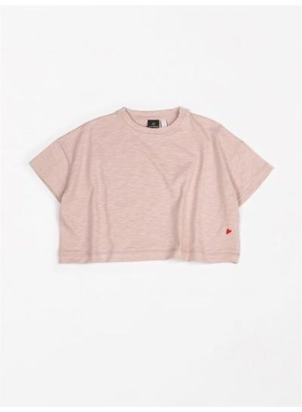 Mundo Melocotón T-shirt Oversized Flamee | Pink Sand