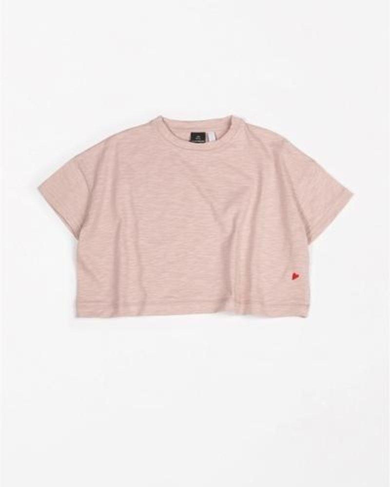 Mundo Melocotón T-shirt Oversized Flamee | Pink Sand