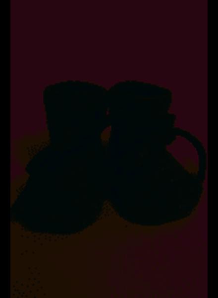 Hvid Booties | Grey melange