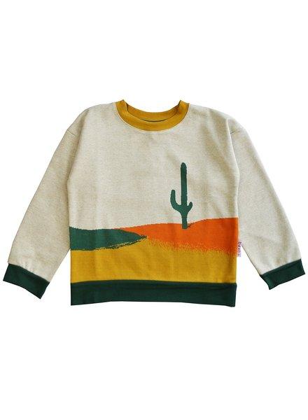 ba*ba Jacquard sweater | Cactus