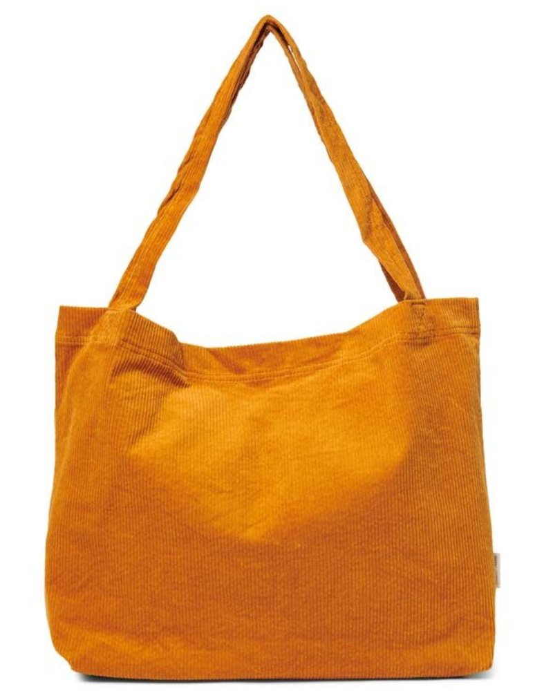 Studio Noos Mom-bag | Orange Rib