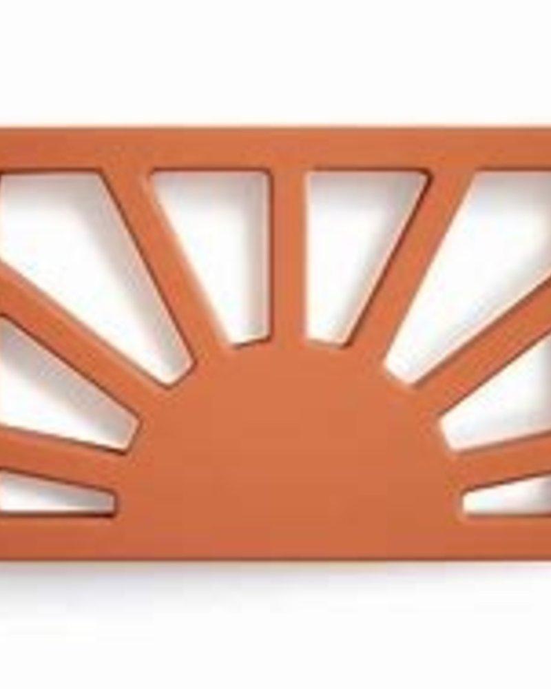 Mushie Bijtspeeltje Sun | Clay