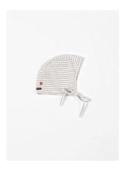 Mundo Melocotón Bonnet Jersey   Denim stripes