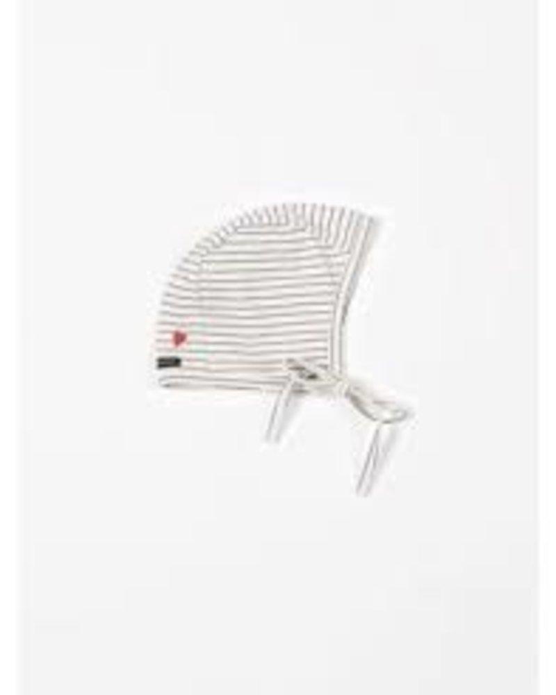 Mundo Melocotón Bonnet Jersey | Denim stripes