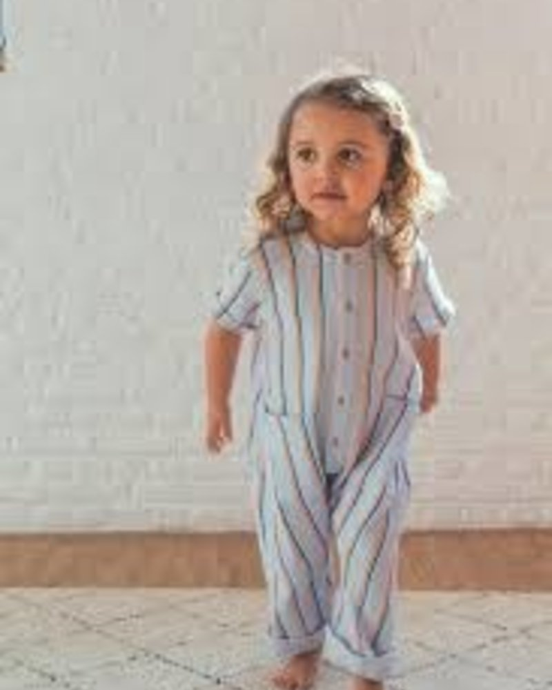 Mundo Melocotón Jumpsuit tetra baby   Fluo