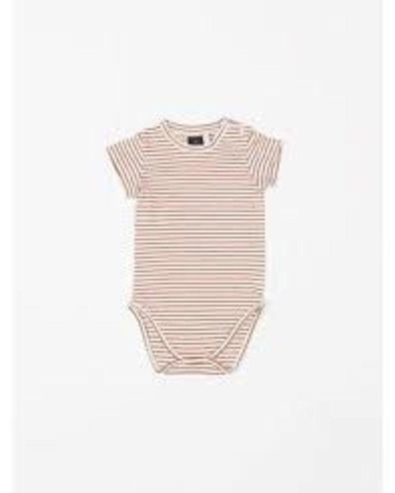 Mundo Melocotón Body jersey | Ruby Stripes