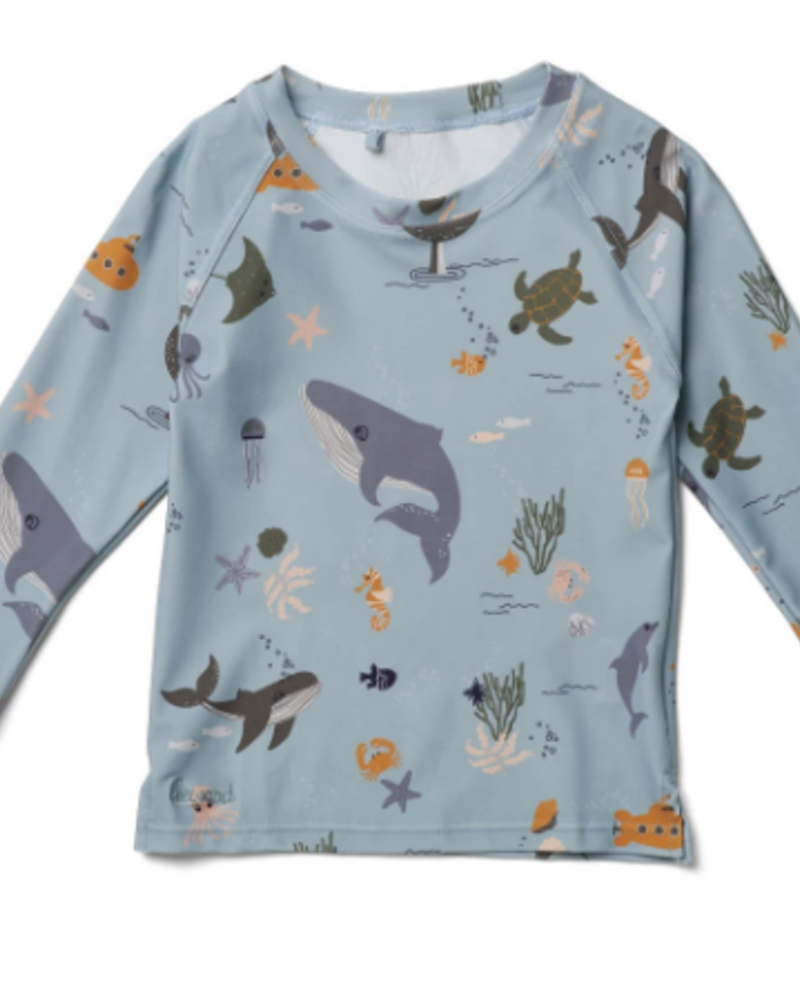 Liewood Noah zwemshirt | Sea creature mix