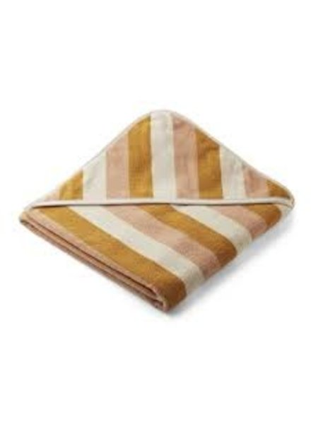 Liewood Louie grote badcape | Peach - Sandy - Yellow Mellow