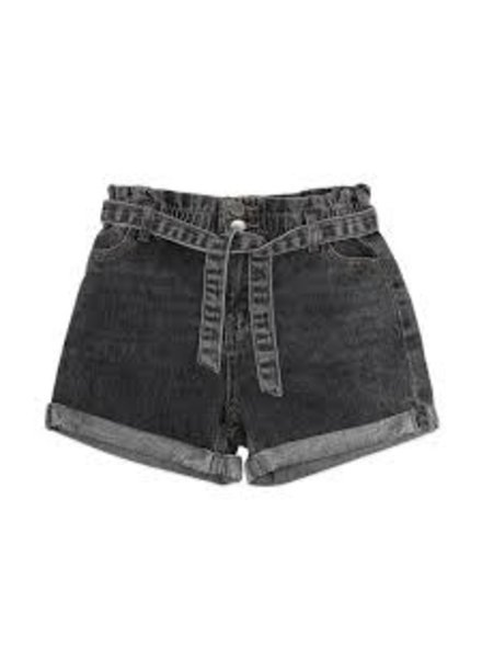 Ammehoela Jip short | Stone black