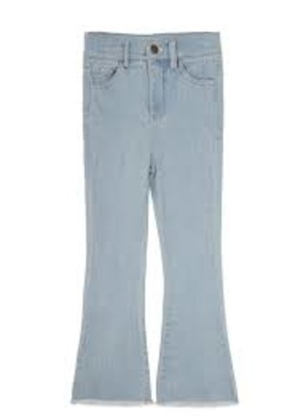 Ammehoela Liv flared jeans | Denim bleached