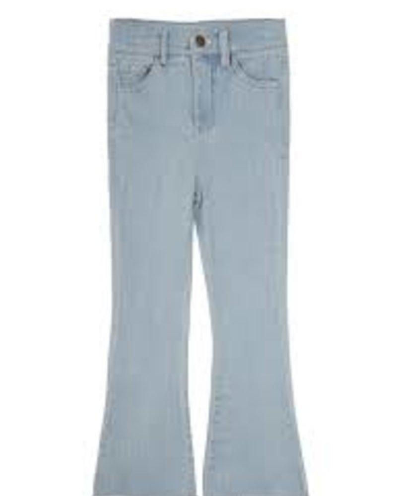 Ammehoela Liv flared jeans | Denim bleached