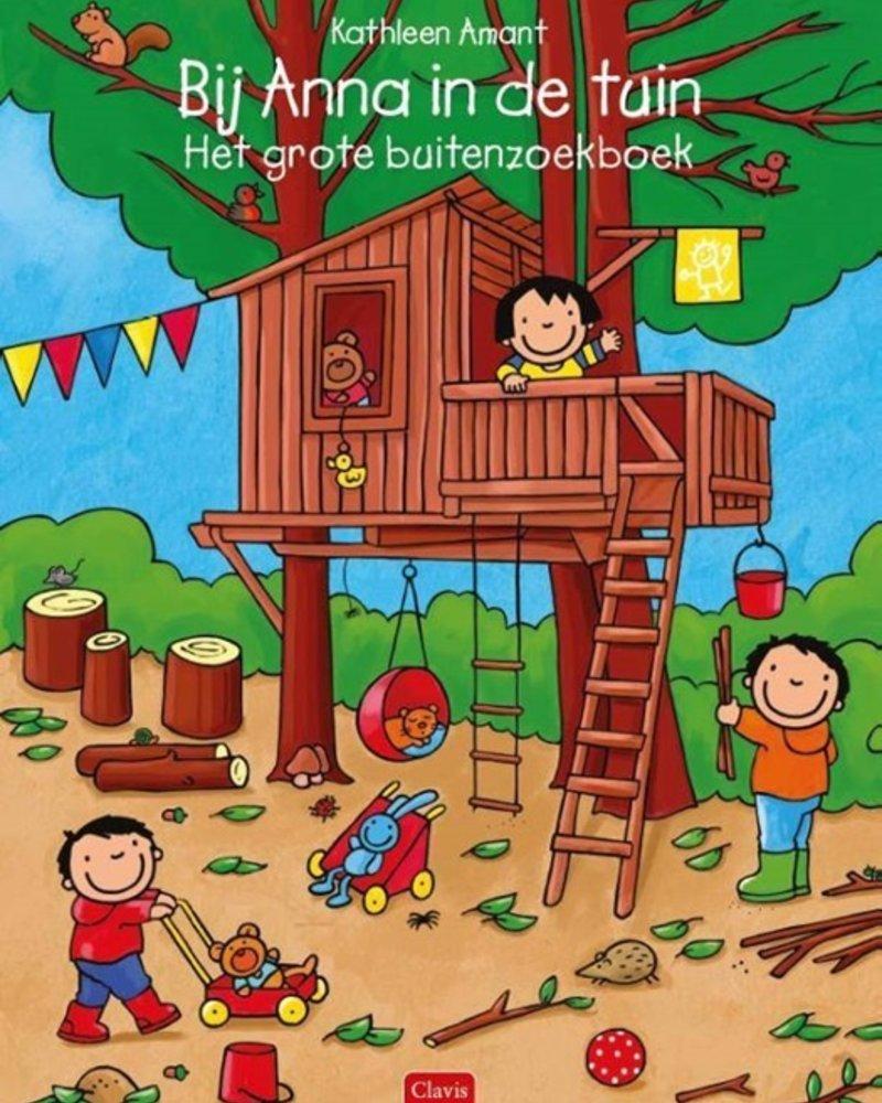 Clavis Bij Anna in de tuin - Het grote buitenzoekboek