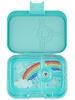 Yumbox Panino 4 vakken   Misty Aqua + Rainbow Tray