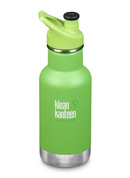 Klean Kanteen Drinkbus | Kid Insulated - 355ml | Lizard tails - Green mat