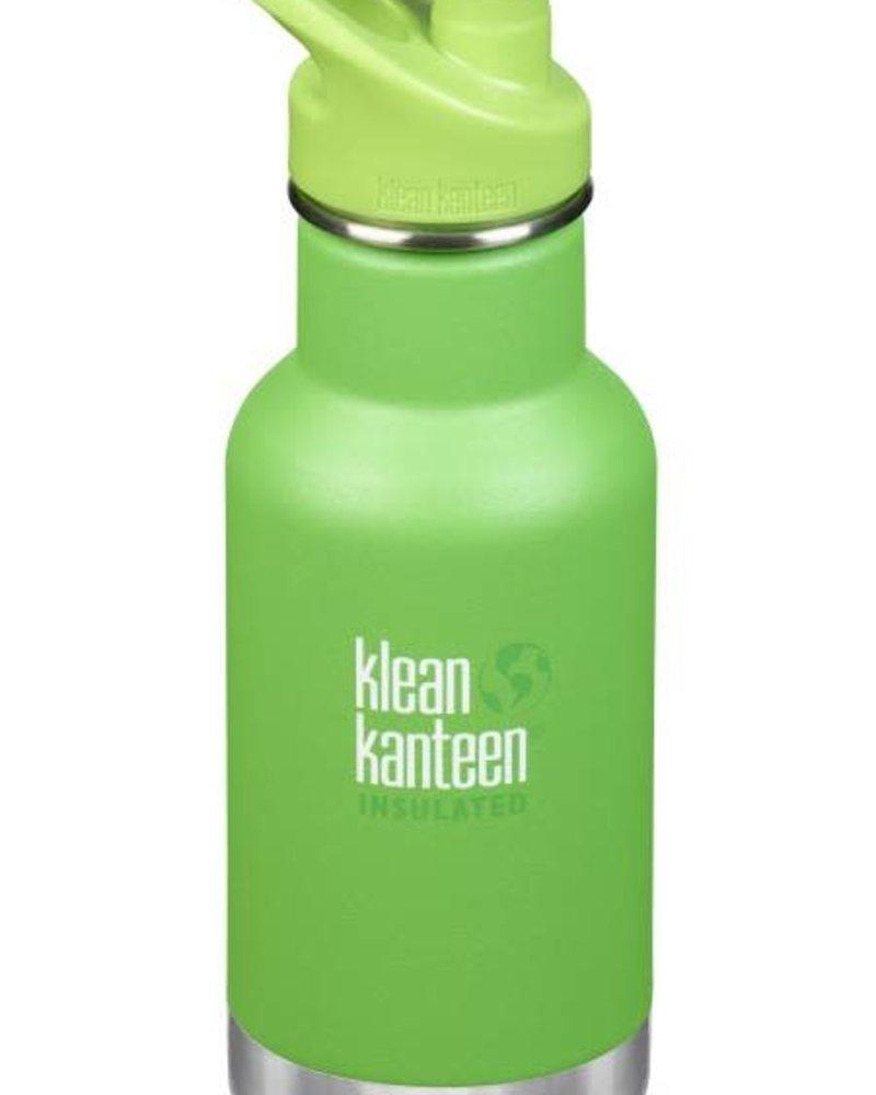 Klean Kanteen Drinkbus | Kid Insulated - 355ml | Lizard tails - Green mat