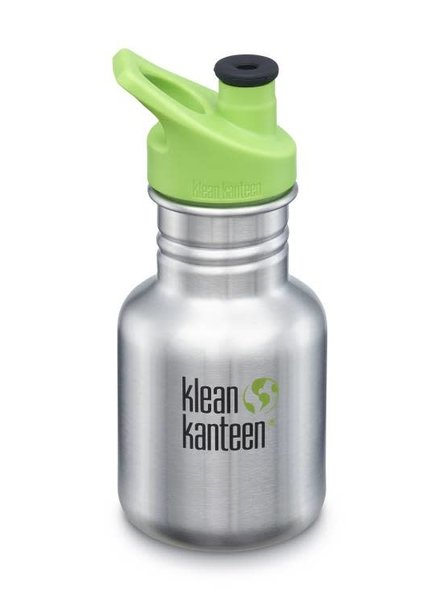 Klean Kanteen Drinkbus | Kid Classic Sippy - 355ml | Brushed Stainless