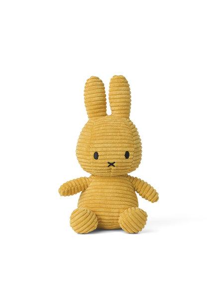 Bon Ton Toys Nijntje | Corduroy | Yellow - 23cm