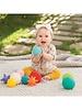 Infantino Textured multi ball - 10 st.