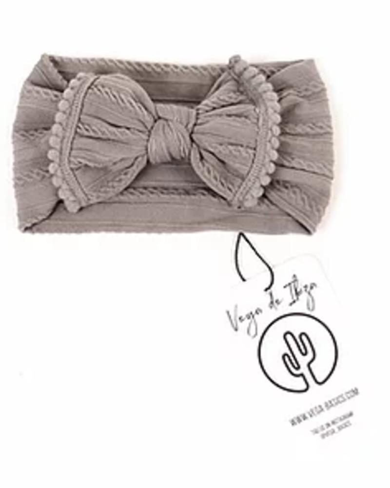 Vega Basics Babyhaarlint Mariposa | Grey