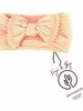 Vega Basics Babyhaarlint Mariposa | Peach