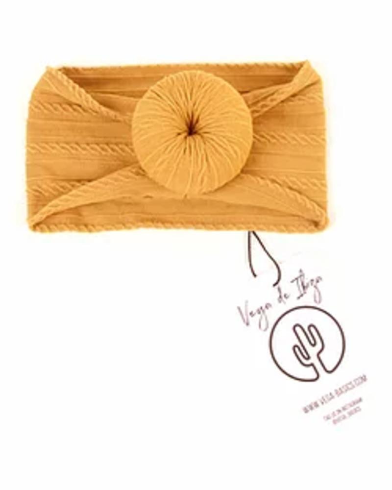 Vega Basics Babyhaarlint Paloma   Saffron