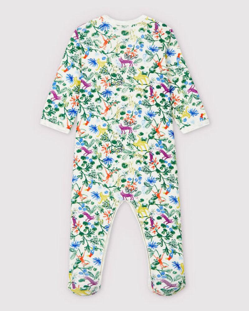 Petit Bateau Pyjama met voetjes   Jungle