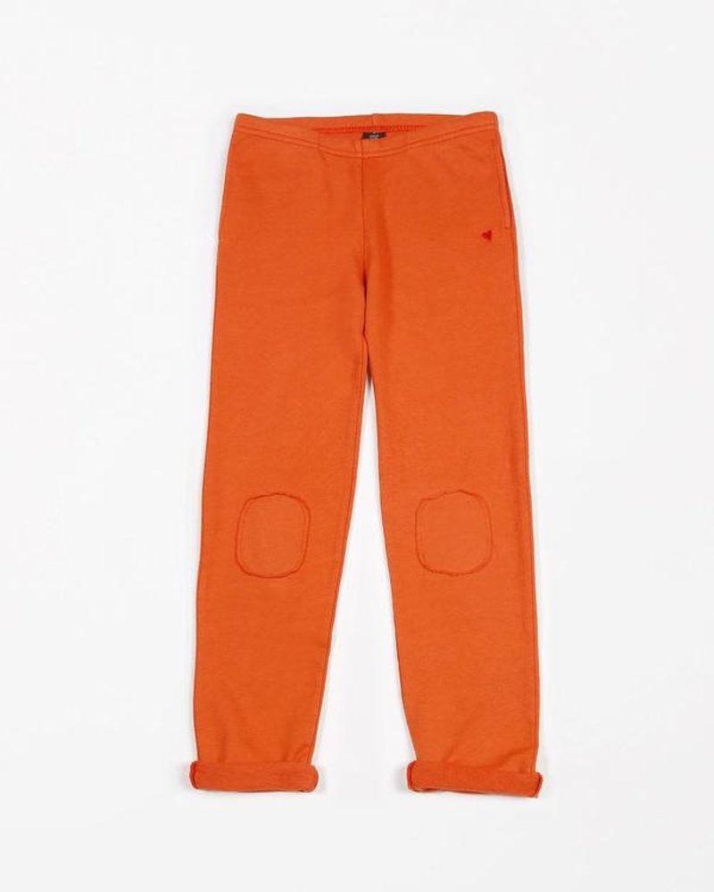 Mundo Melocotón Joggers french terry | Fiesta Red
