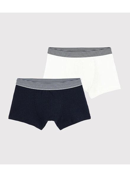 Petit Bateau Set van 2 boxershorts | Rib