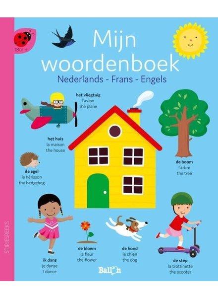 Ballon Mijn woordenboek (NL - FR - ENG)