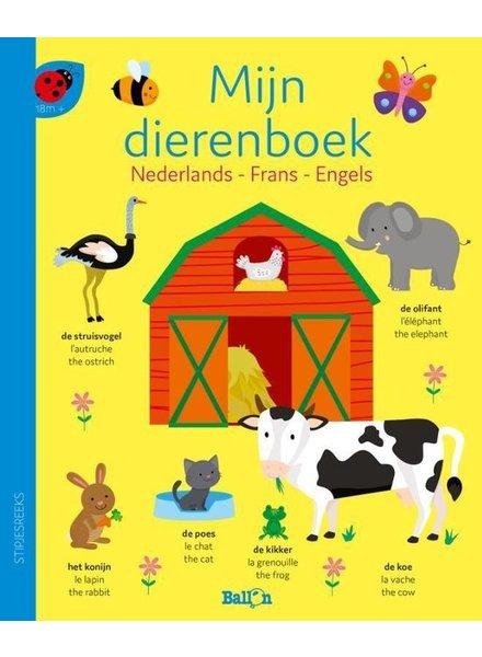 Ballon Mijn dierenboek (NL - FR - ENG)