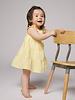 Petit Bateau Prachtig geel gestreept zomerkleed