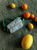 Sticky Lemon Fanny pack |  Sprinkles | Steel blue + Apple green