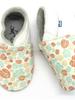 Stabifoot Babyslofjes | Wit + blaadjes