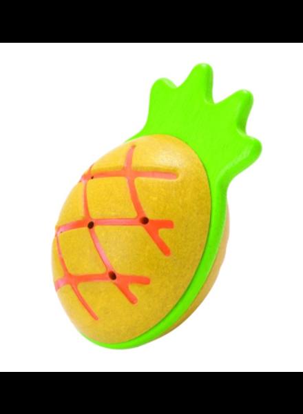 PlanToys Maraca rammelaar - Ananas