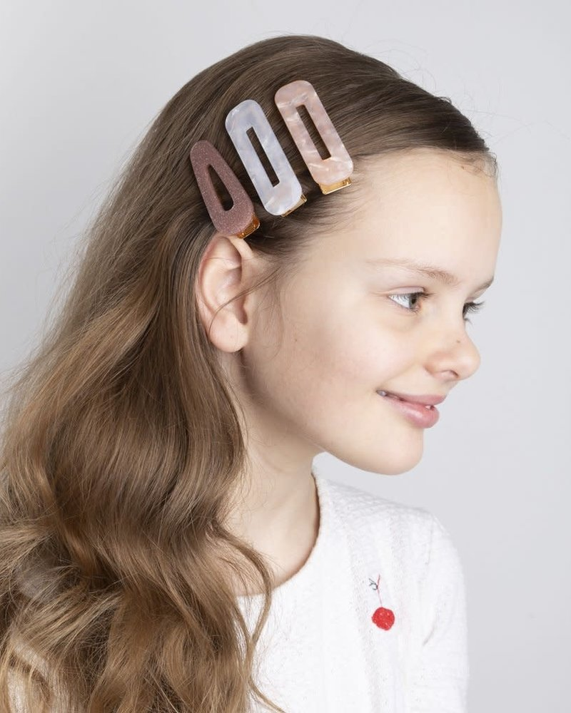 Mimi x Lula Resin clips | Shimmer