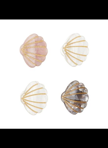 Mimi x Lula 4 knijpertjes | Shimmer Shell