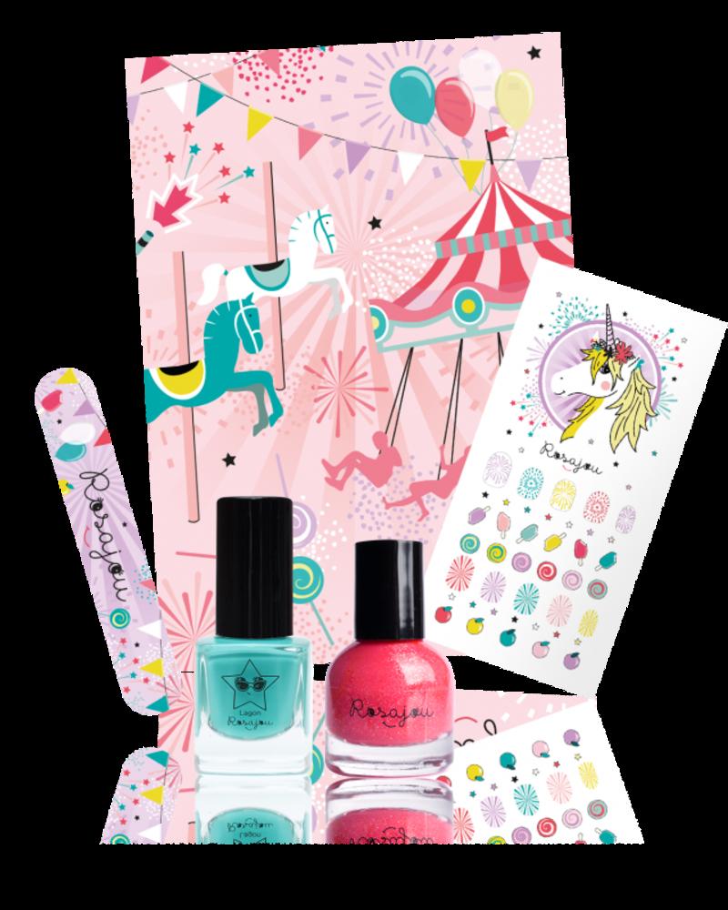 Rosajou Pretty Nails Kit   Lagon