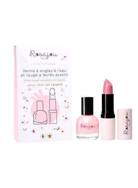 Rosajou Set peel-off nagellak + lipstick | Ballerine
