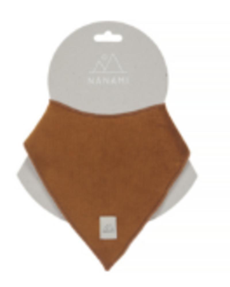 Nanami Bandana | Rib velvet | Caramel