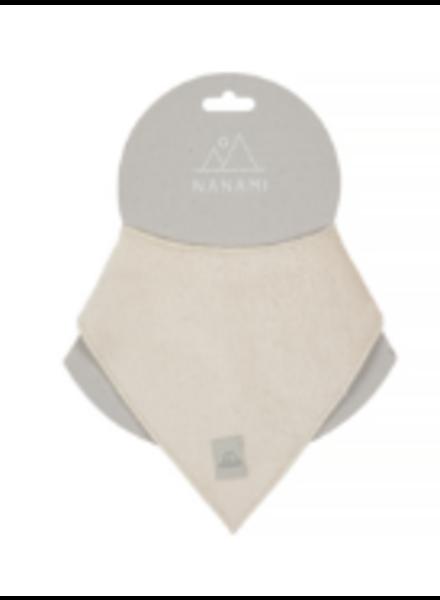Nanami Bandana   Rib velvet   Natural