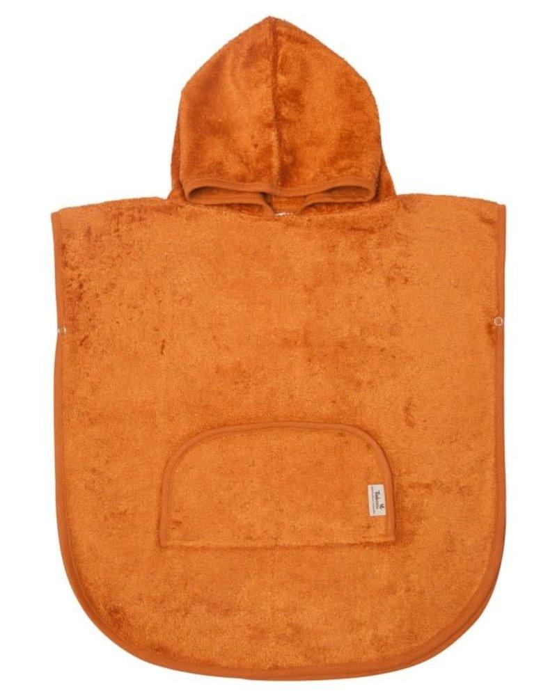Timboo Poncho   Inca Rust
