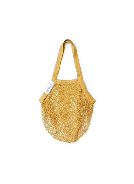 Liewood Mesi mesh tote bag   Yellow mellow - PROMO