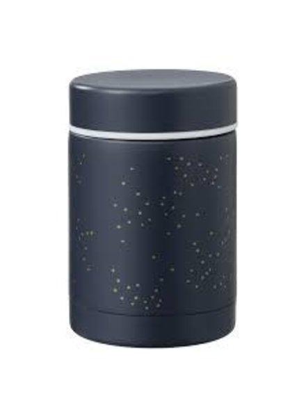 Fresk Thermos food jar 300ml | Indigo dots