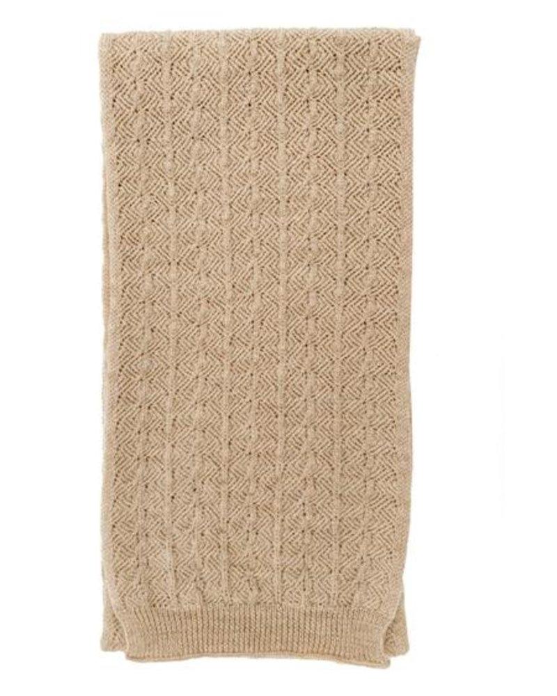 Hvid Sjaal Eduart   Sand   0-3j